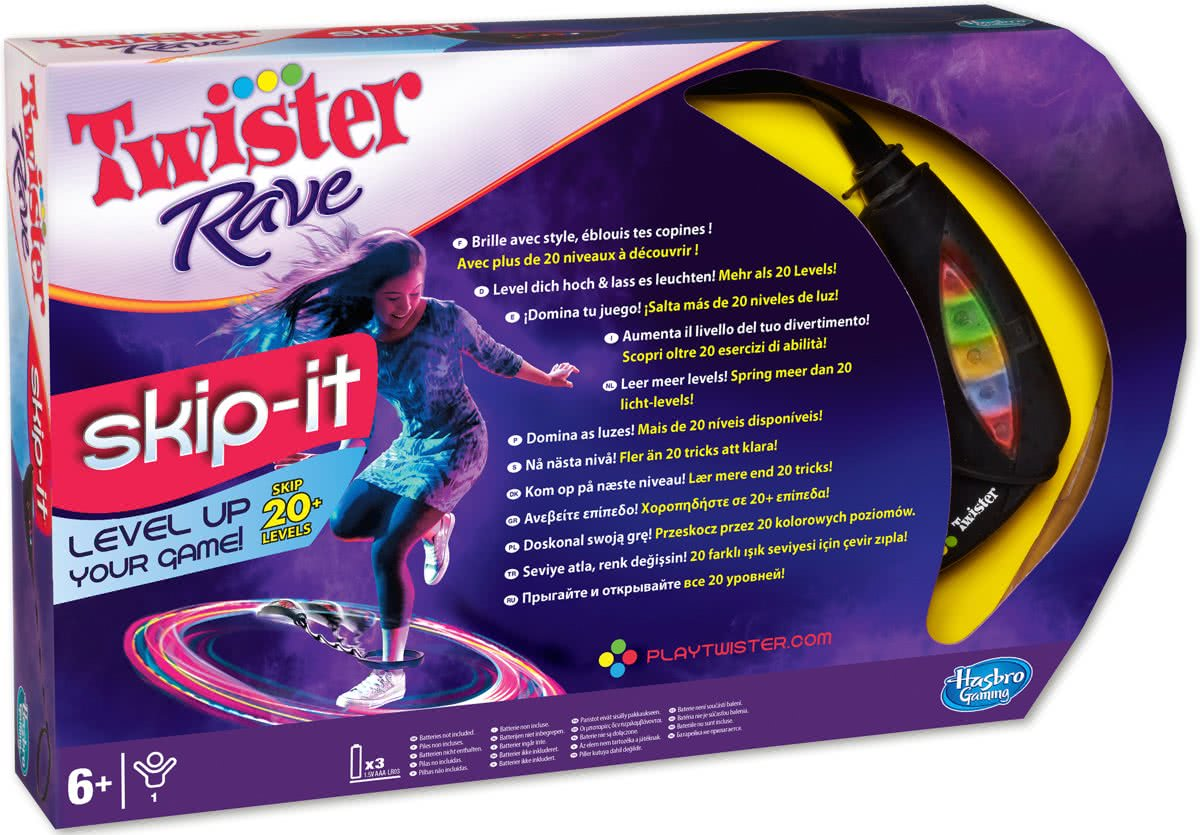 Twister Rave Skip it - Kinderspel
