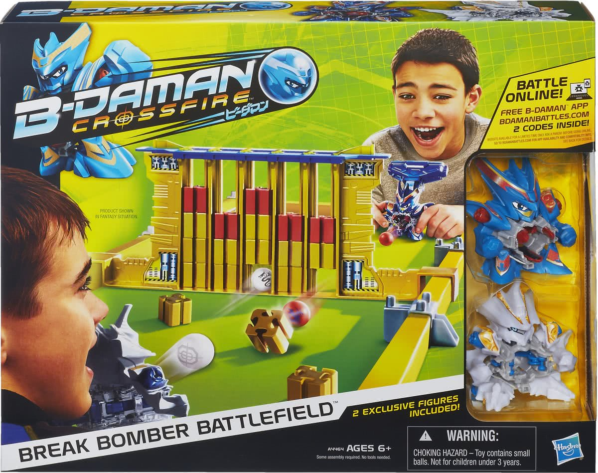 B-Daman Break Bomber Battlefield