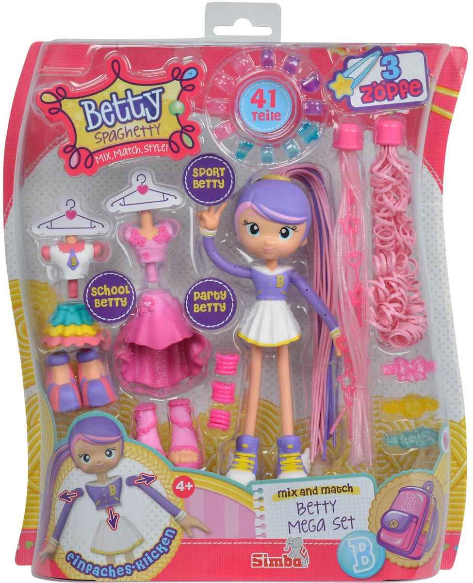 Betty Spaghetty Mega Set