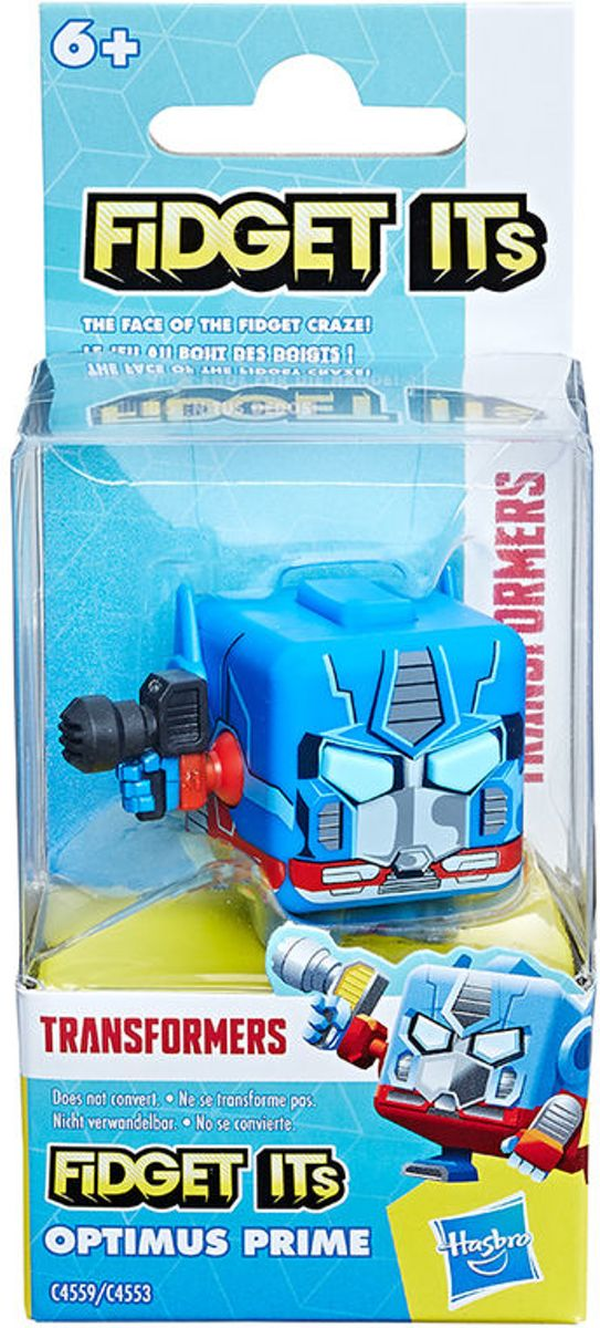 Fidget Cube Transformer Optimus Prime