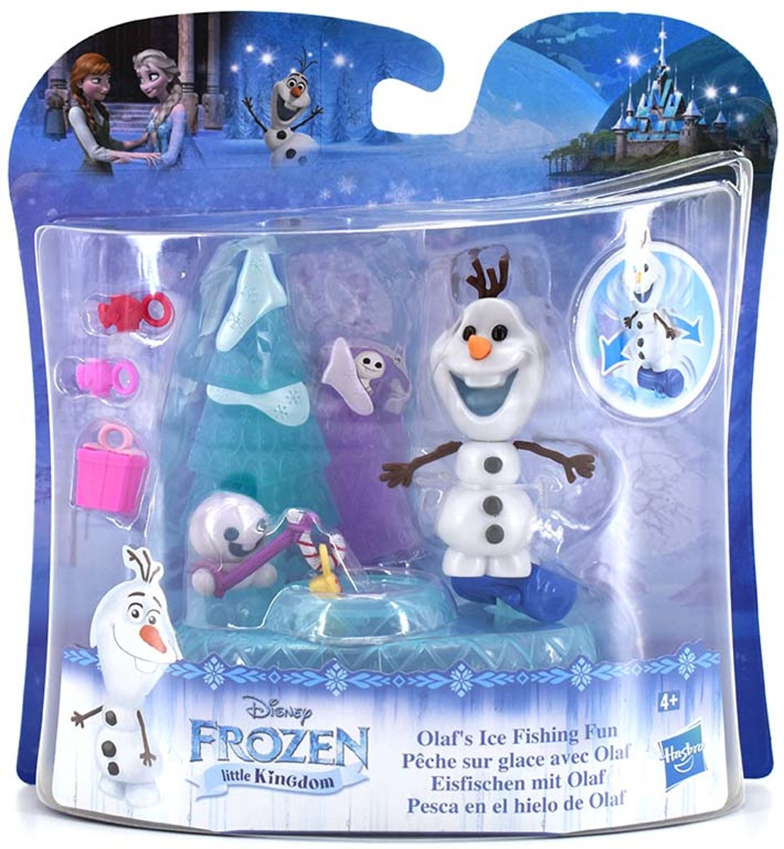 Frozen mini figuren - Olaf