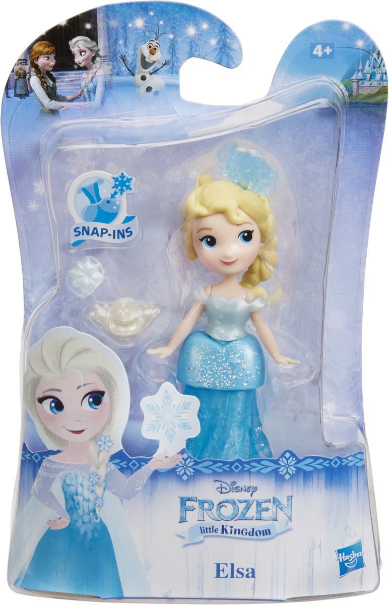 Hasbro Disney Frozen Little Kingdom Elsa with Shimmers pop