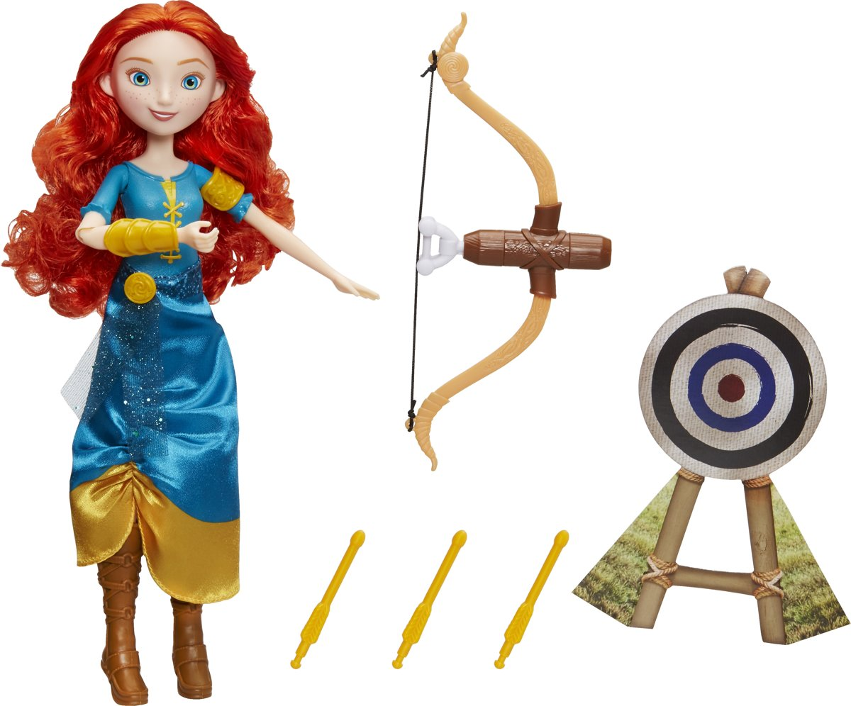 Hasbro Disney Princess Merida's Adventure Bow pop