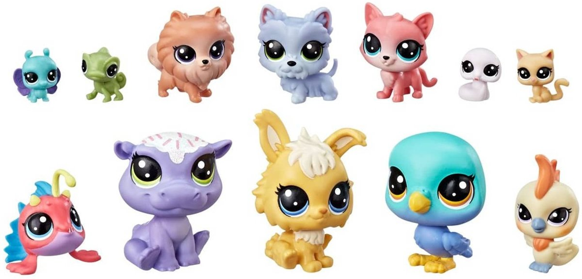 Hasbro Speelset Littlest Pet Shop 12-delig