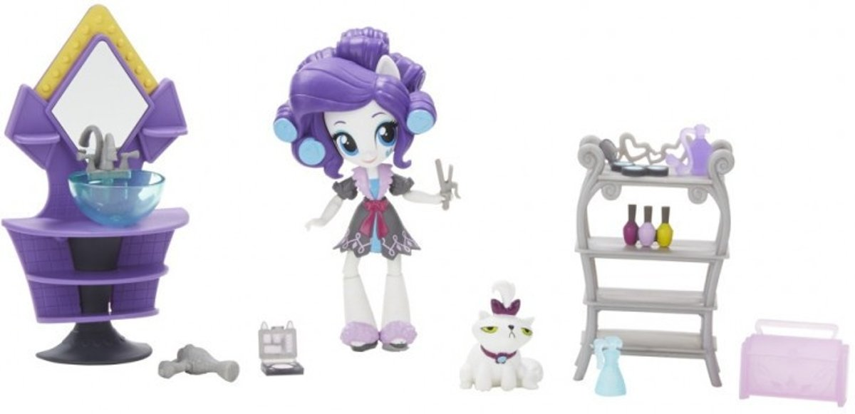 Hasbro Speelset My Little Pony: Rarity Paars