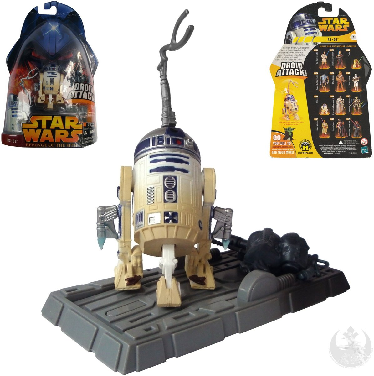Star Wars Revenge of the Sith R2-D2 Droid Attack