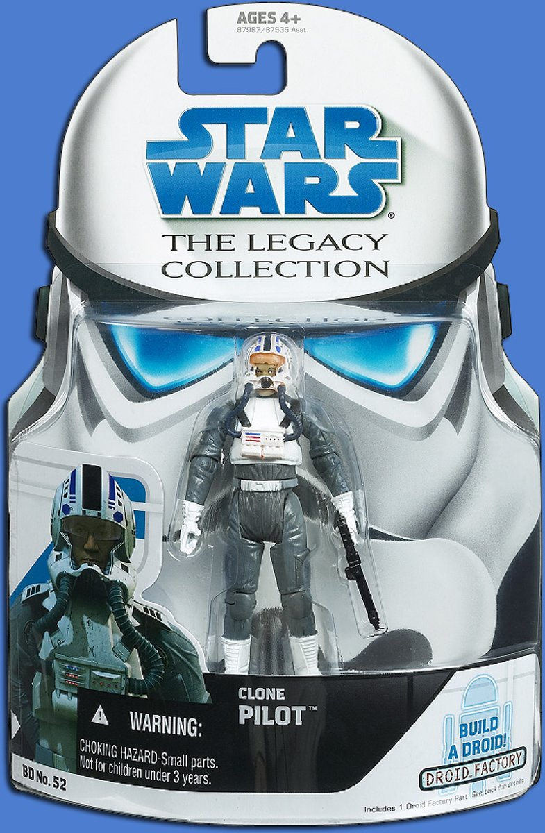 Hasbro Star Wars The Legacy Collection Clone Pilot BD52