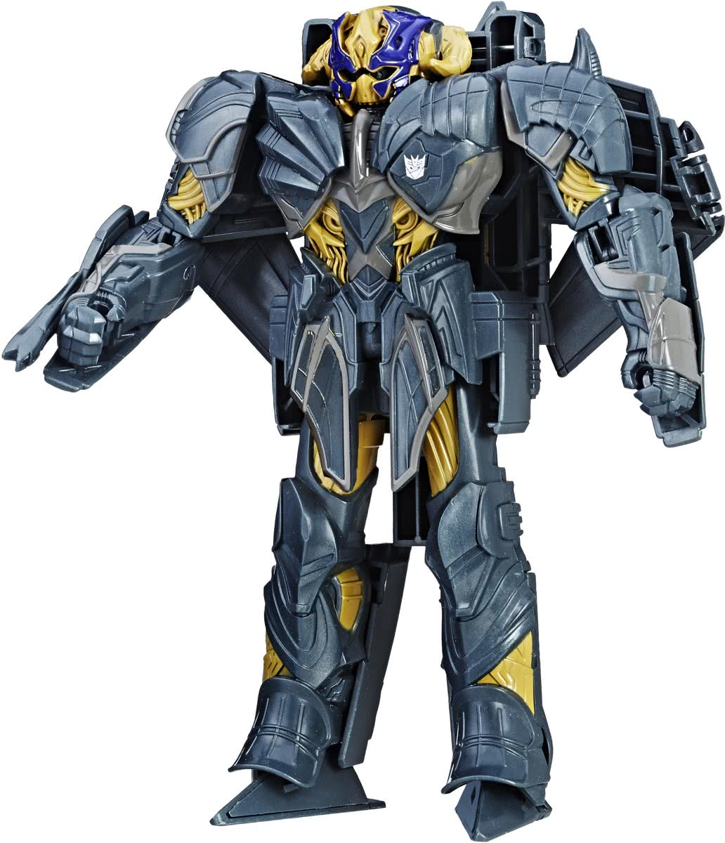 Transformers: The Last Knight - Knight Armor Turbo Changer Megatron transformerspeelgoed