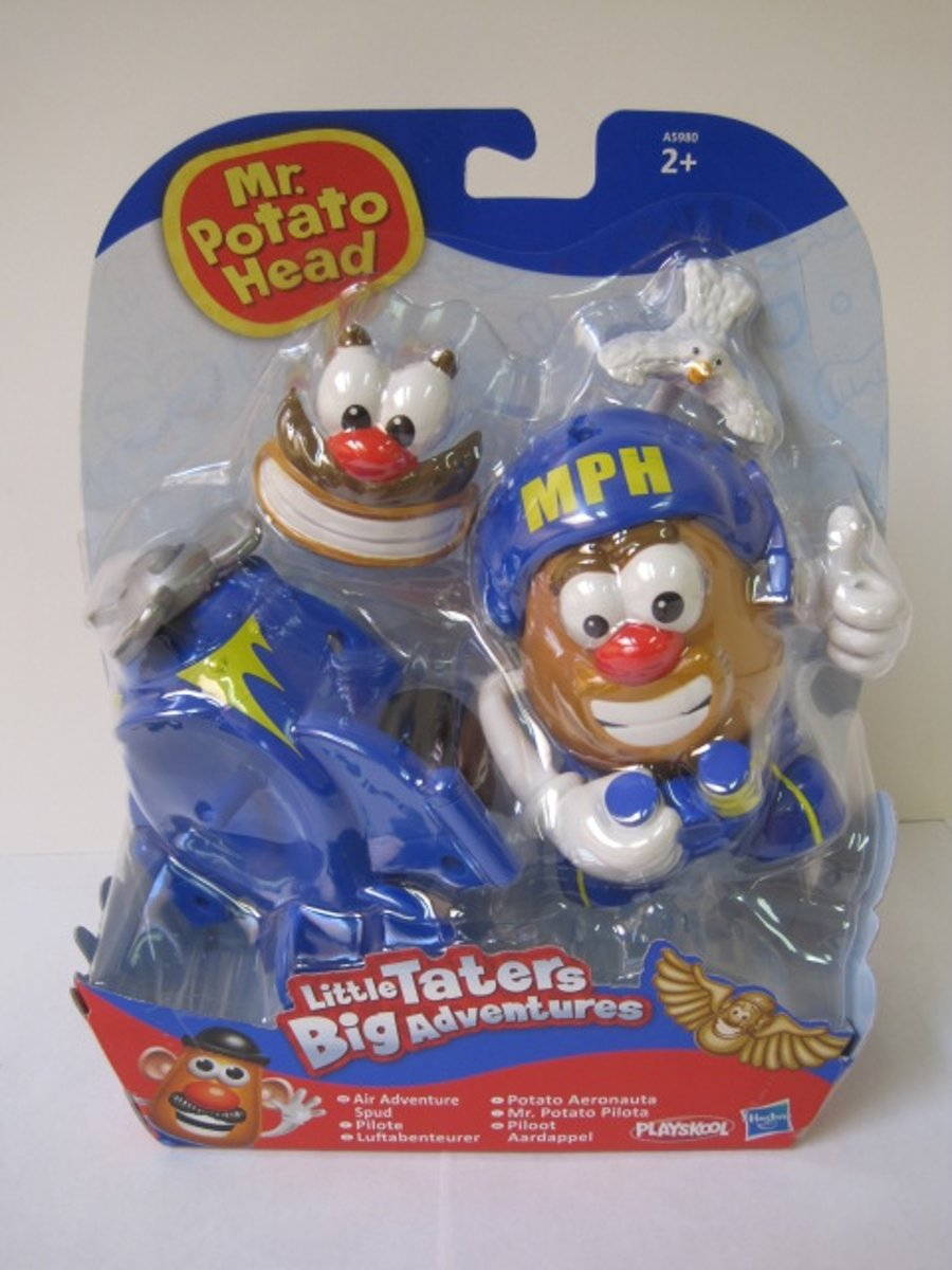 MR Potato Head Little Taters Big Adventures