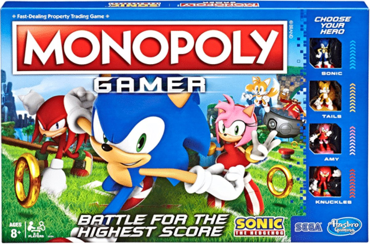 Monopoly - Sonic Gamer Edition