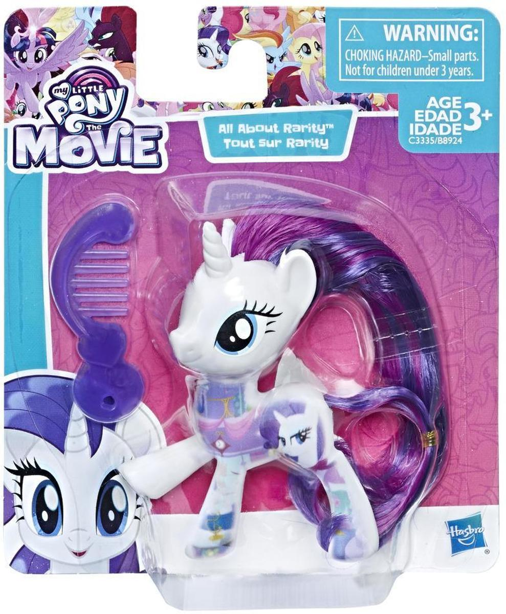 My Little Pony All About Rarity speelfiguur 8 cm