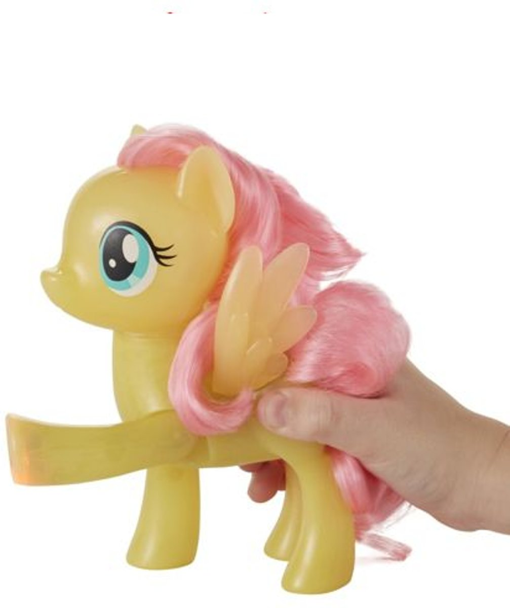 My Little Pony Fluttershy high five lampje geel