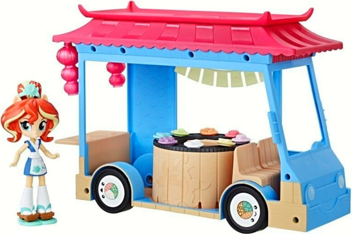 My Little Pony Sushi truck foodtruck
