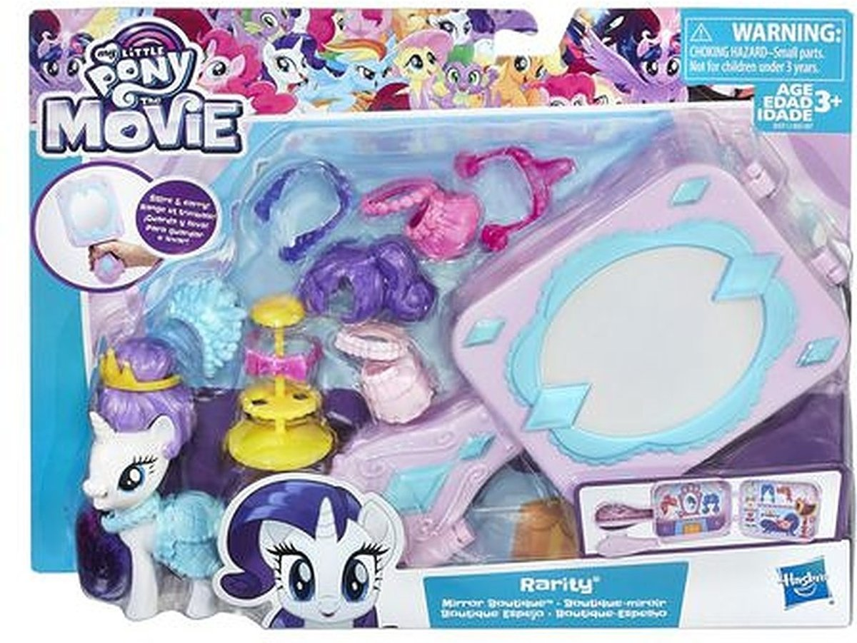 My Little Pony the Movie Rarity Mirror Boutique