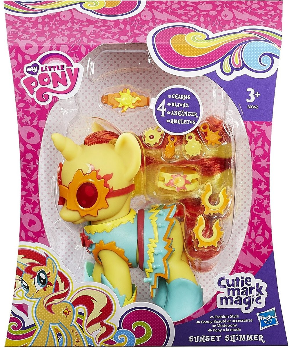 My little pony cutie mark Magic Sunset Shimmer Fashion Style