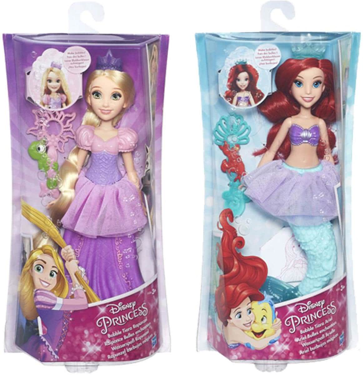 POP DISNEY PRINCESS BUBBEL TIARA PRINSES ASSORTI