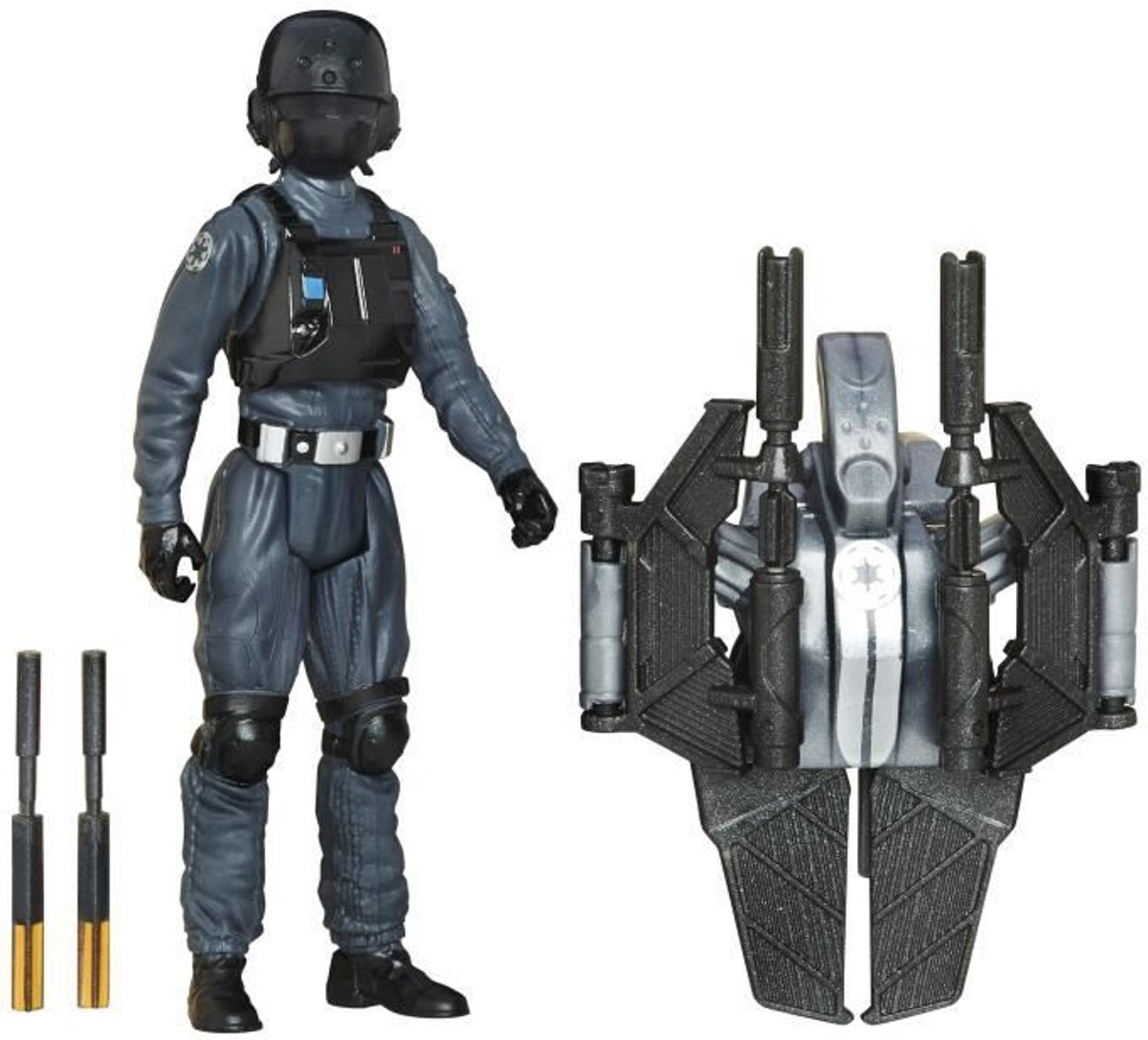 STAR WARS Rogue One - Imperial Ground Crew - Beeldje 10cm