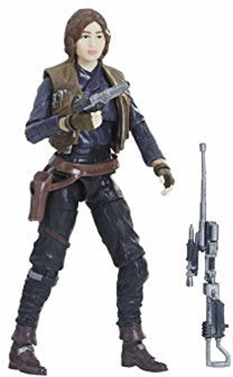 Star Wars Black E7 6 INCH Action Figure Sergeant Jyn Erso (2018) HASBRO TOYS
