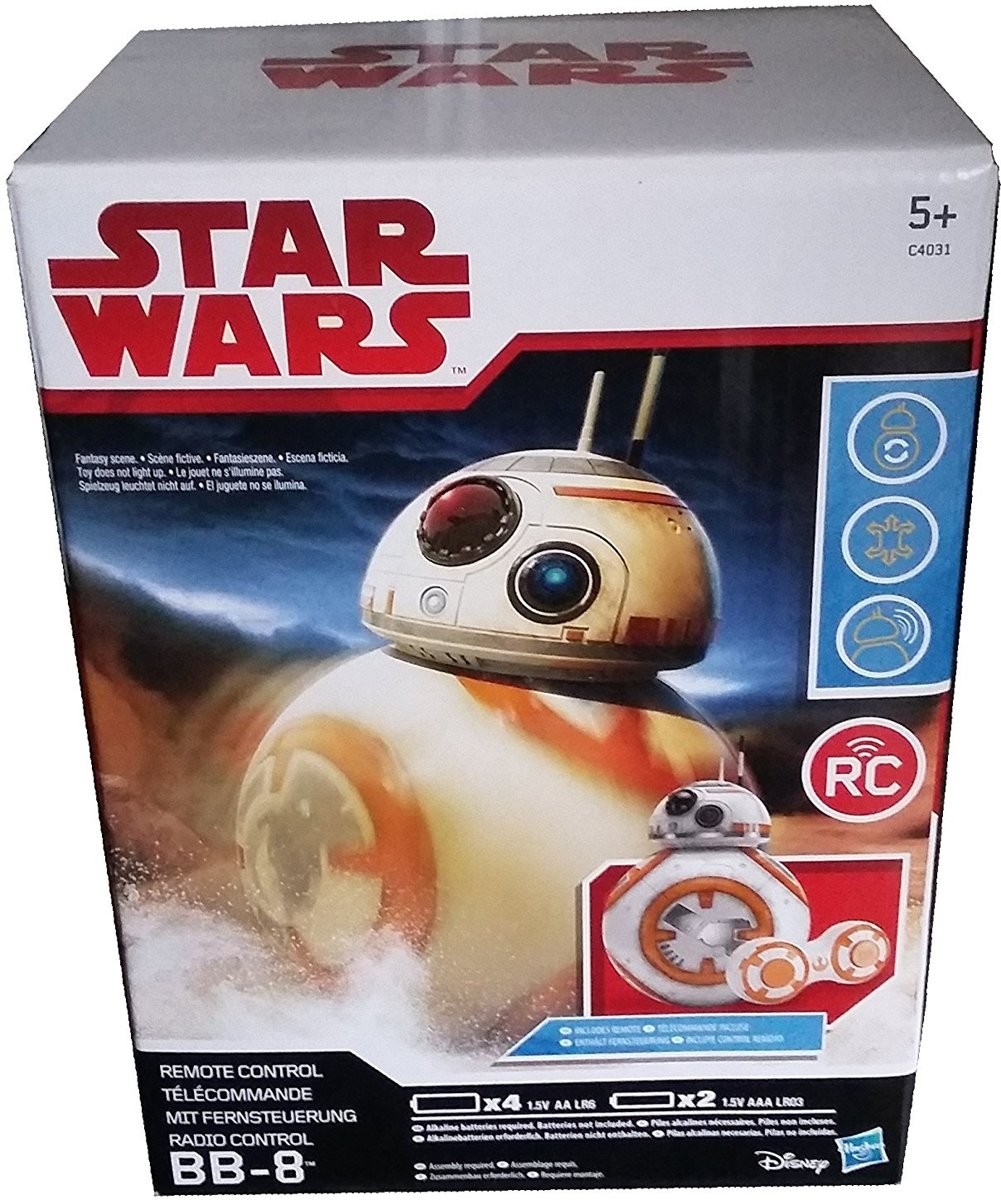 Star Wars: The Force Awakens - Disney BB-8 RC Hero Droid