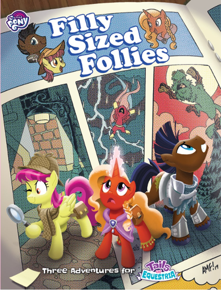 Tails of Equestria - Filly Sized Follies