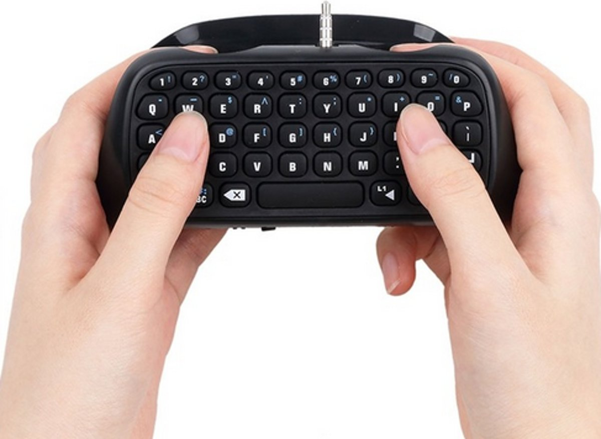 Mini toetsenbord voor in Playstation 4 controller PS4 controller keyboard /