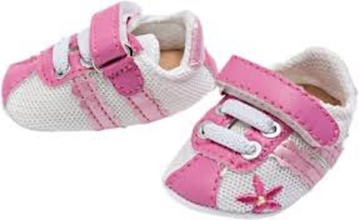 Dolls sports shoes – pink/grey, 38-45 cm