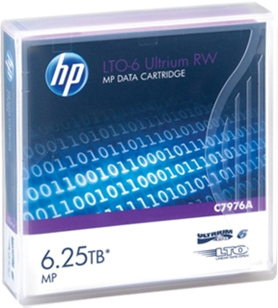 HP LTO-6 Ultrium 6.25 TB MP RW Eco Pack