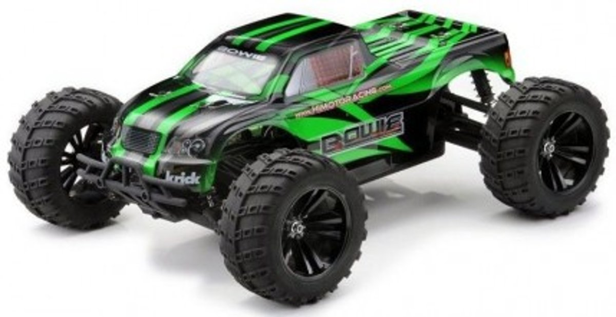 Bowie 2.4 GHz Off-Road Truck 4WD 1:10