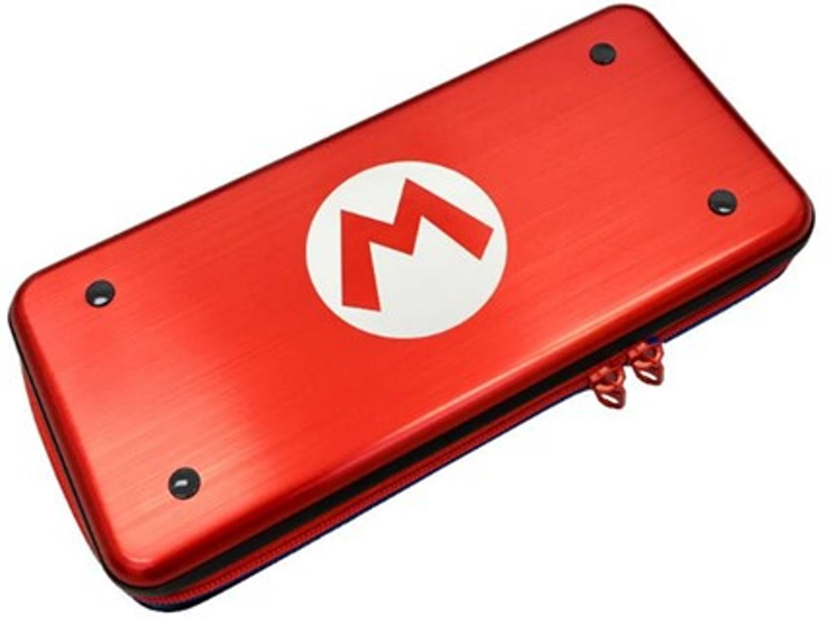 - Nintendo Switch - Aluminium Case Mario