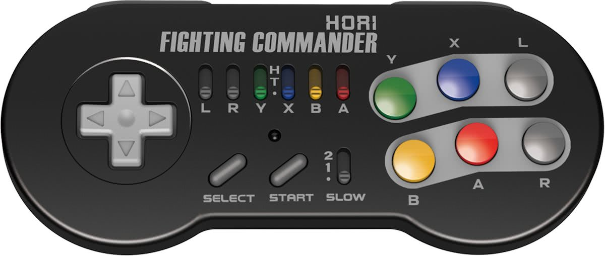 Fighting Commander - Fighting controller - Official licensed - SNES Classic
