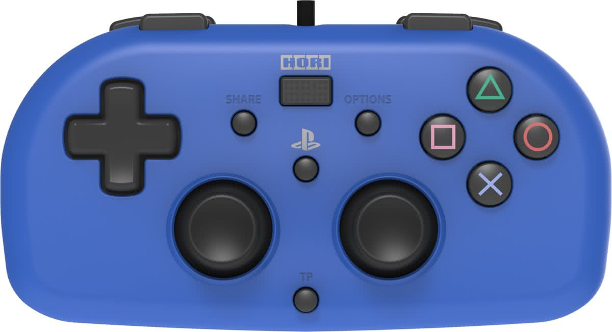 Hori Mini Kids Controller - Officieel Sony Licensed - PS4 - Blauw