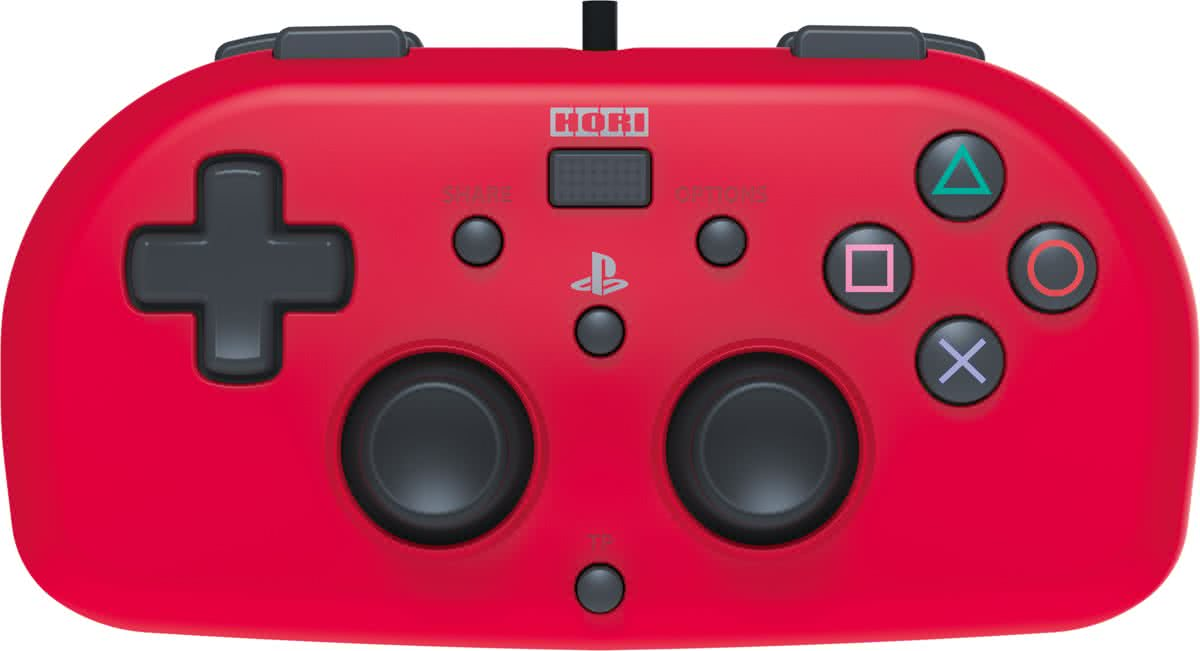 Hori Mini Kids Controller - Officieel Sony Licensed - PS4 - Rood