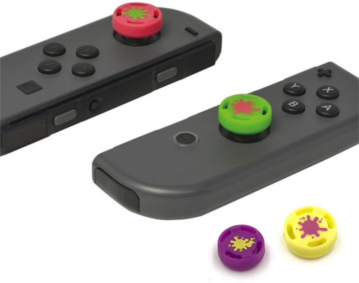 Nintendo Switch Splatoon Thumb Grips