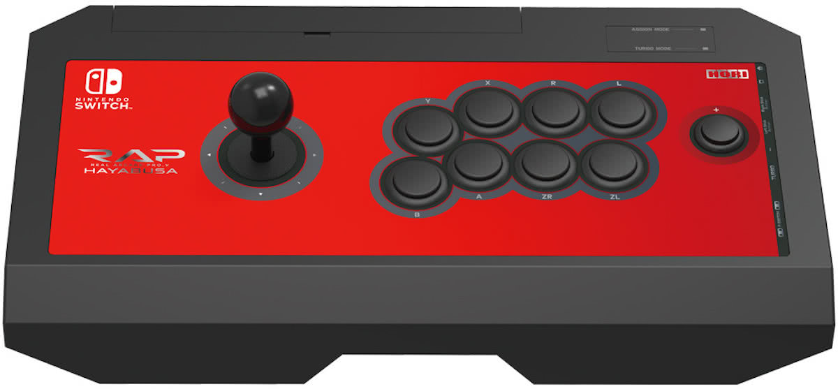Real Arcade Pro v Hayabusa - Arcade Stick - Official Licensed - Nintendo Switch/PC