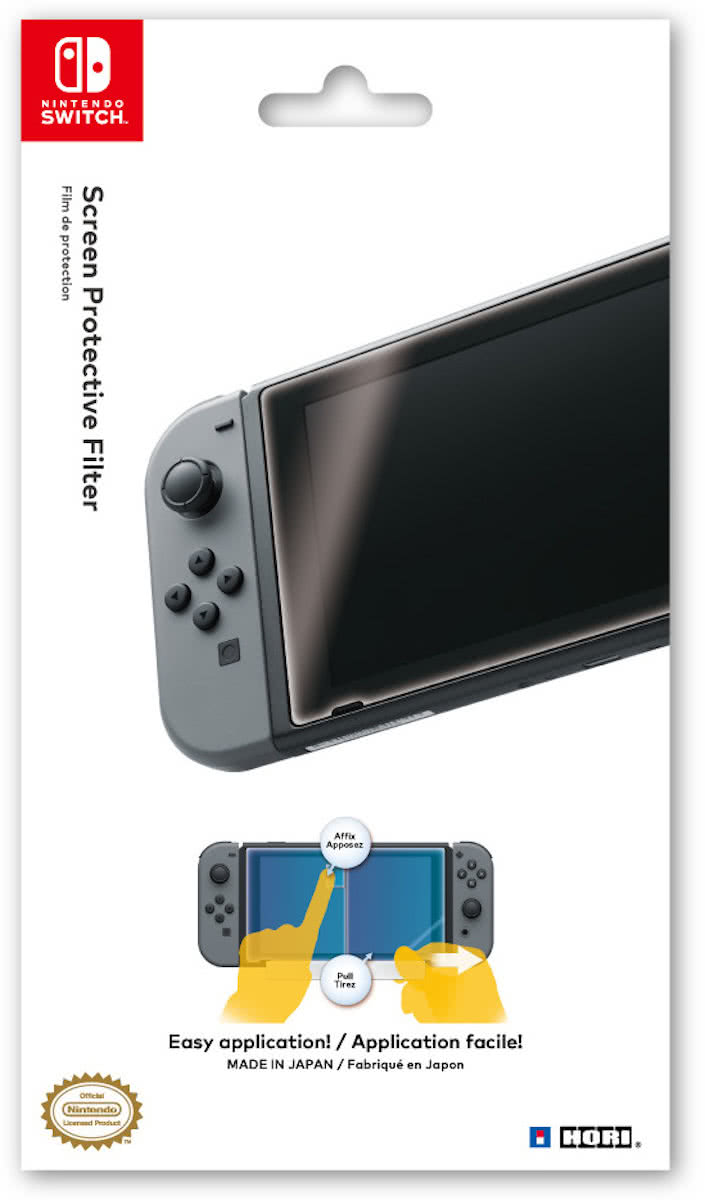 Hori Screen Protective Filter - Official Licensed - Switch