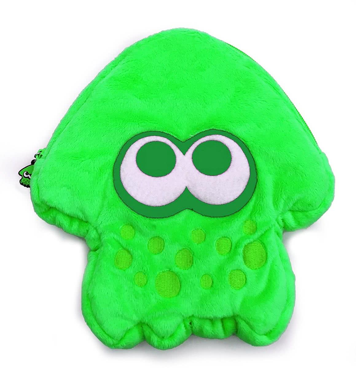 Splatoon 2 Plush Pouch - Nintendo Switch - Groen