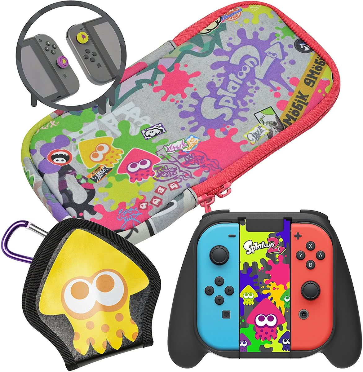 Splatoon 2 Splat Pack Deluxe - Nintendo Switch