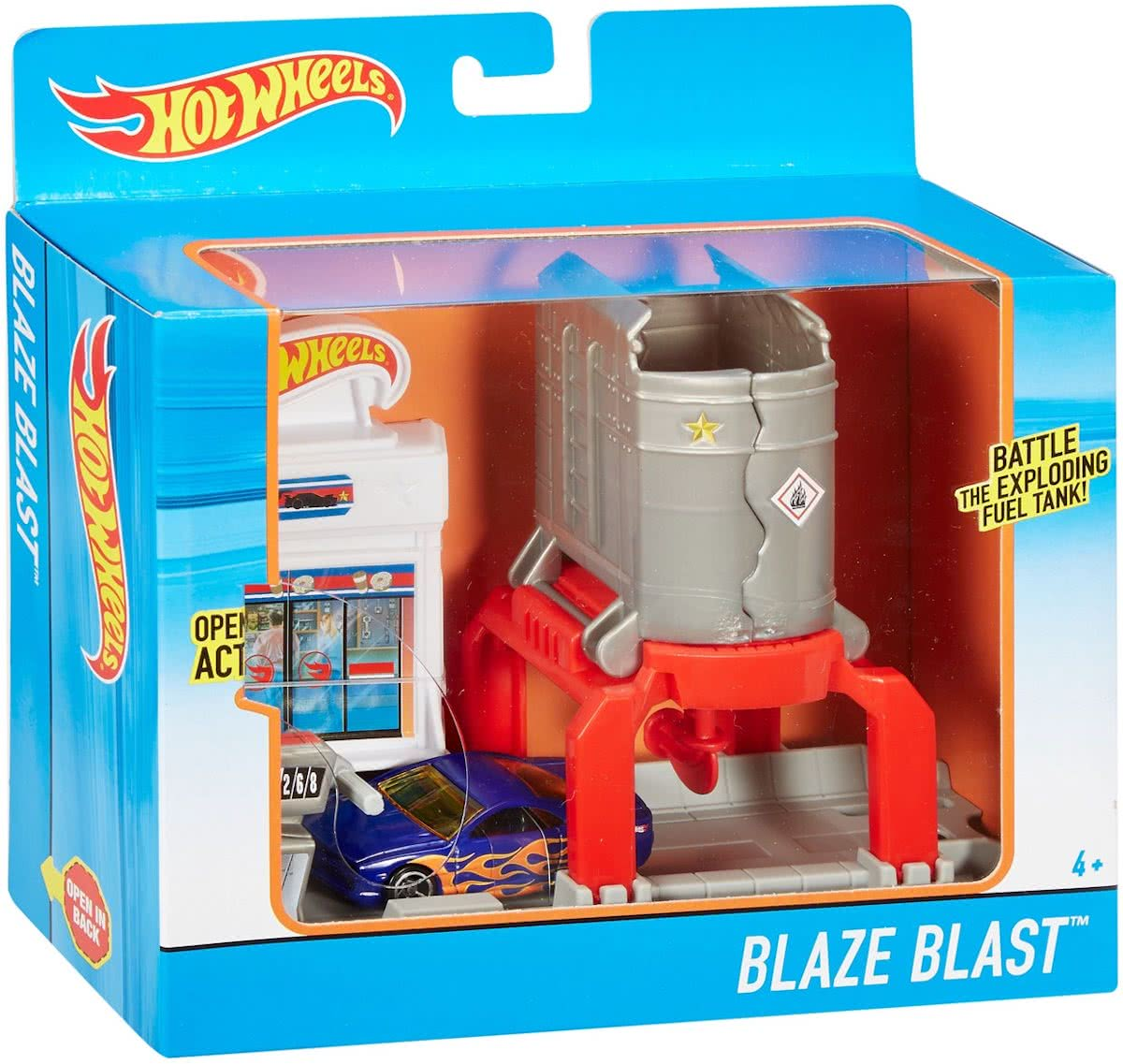 Fold-Out Speelset - Blaze Blast