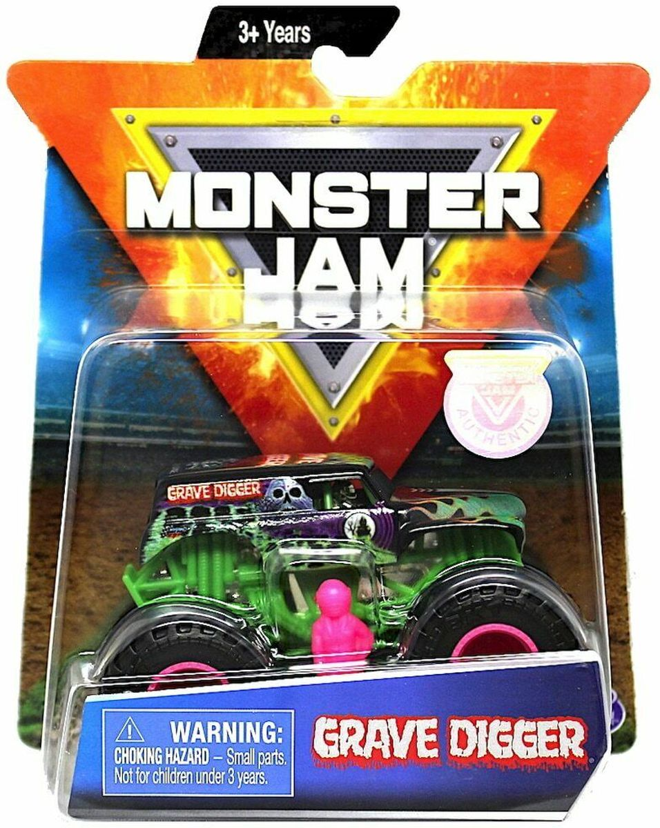 Hot Wheels Monster Truck Grave Digger Dangers Diva limited edition - 9 cm