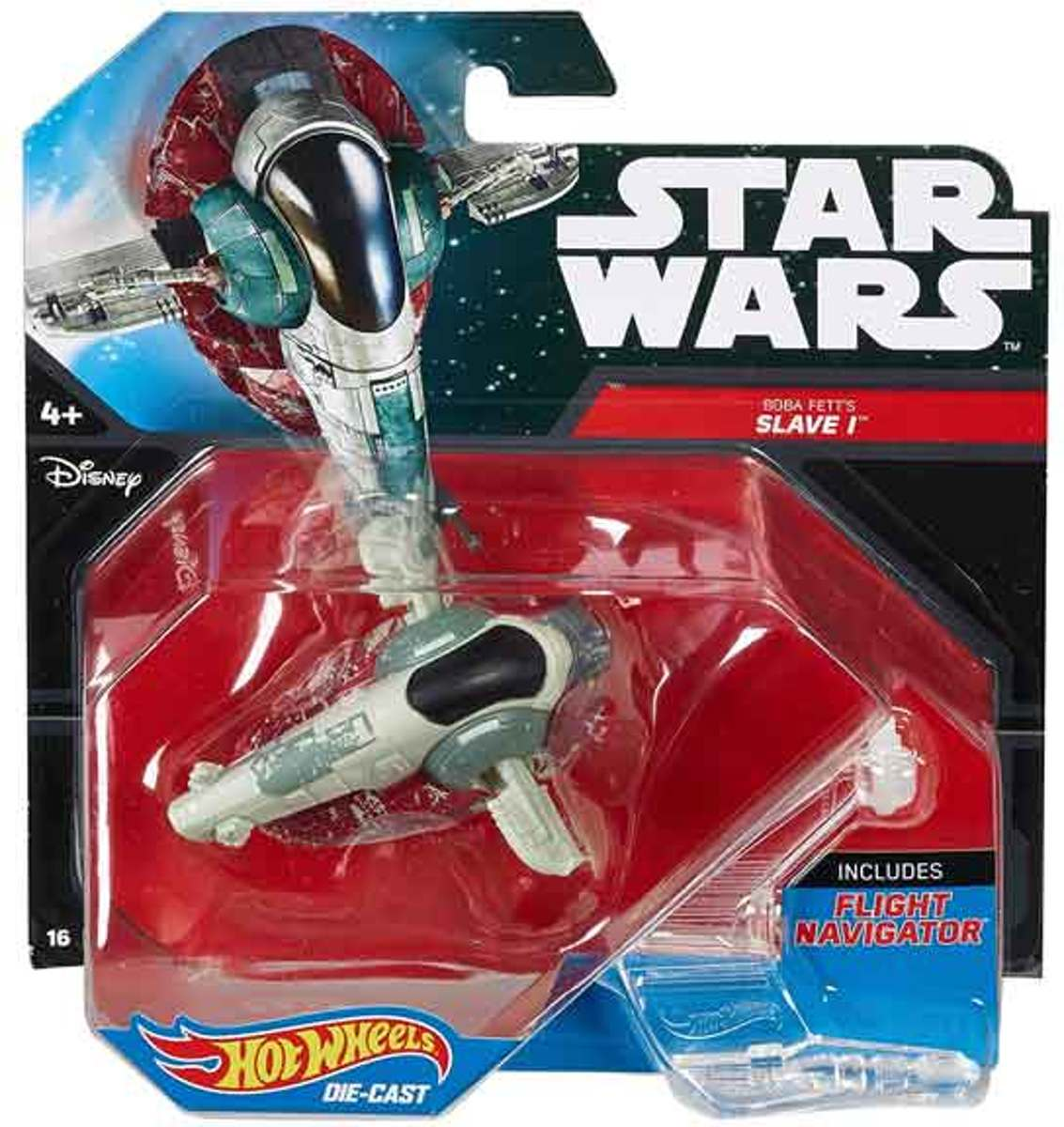 Hot wheels - Star wars - Boba fetts slave I