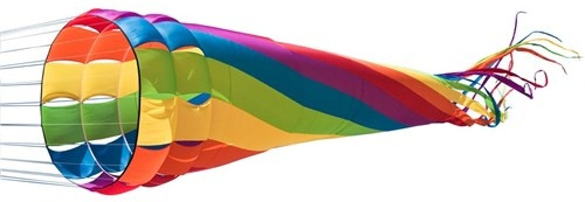 Hq Kites Windturbine Rainbow 1500 Cm