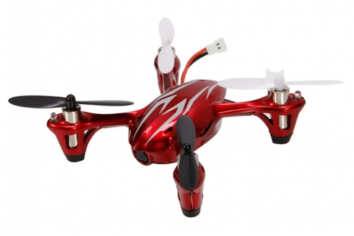 Micro X4 H107C - Drone - Rood
