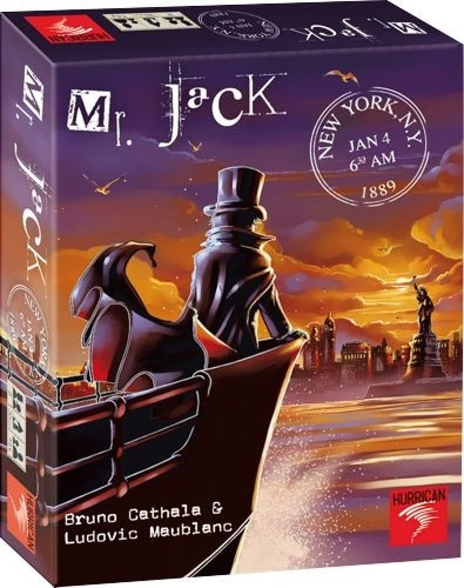 Mr.Jack New York,bordspel Hurrican Games :: Asmodee