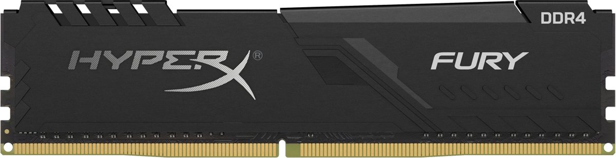 8GB 3600MHz DDR4 CL17 DIMM 1Rx8   FURY Black