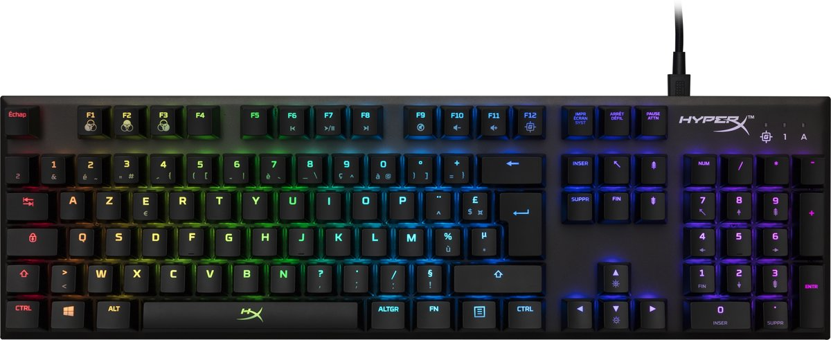 Alloy FPS RGB - Mechanical Gaming Keyboard - FR Azerty - Kailh Silver Speed