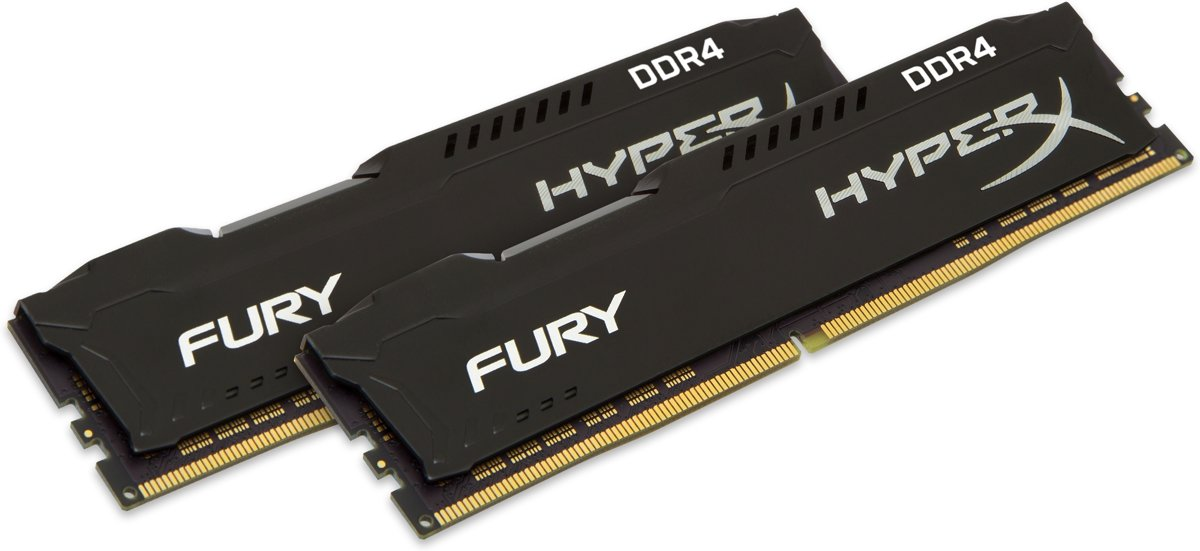 FURY Black 16GB DDR4 3200 MHz Kit 16GB DDR4 3200MHz geheugenmodule