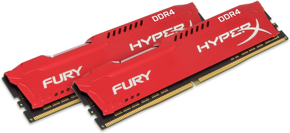 FURY Red 16GB DDR4 3400 MHz Kit 16GB DDR4 3400MHz geheugenmodule
