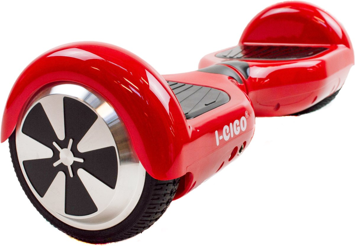 Hoverboard 6,5 INCH met bluetooth en LED, rood