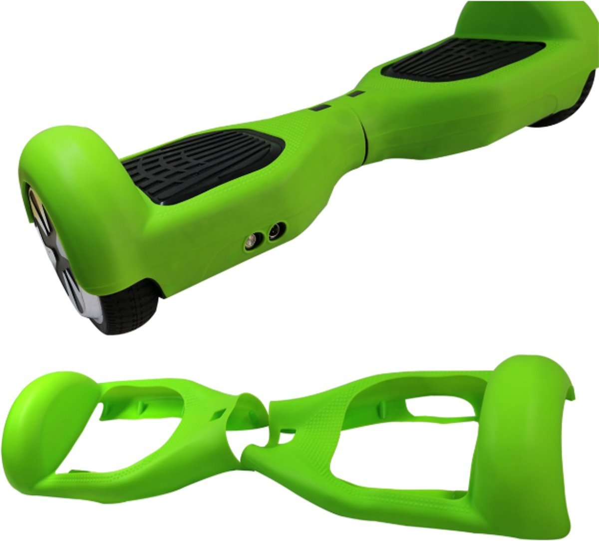 Hoverboard  Silicone Hoesje voor hoverboard 6.5 inch-Groen