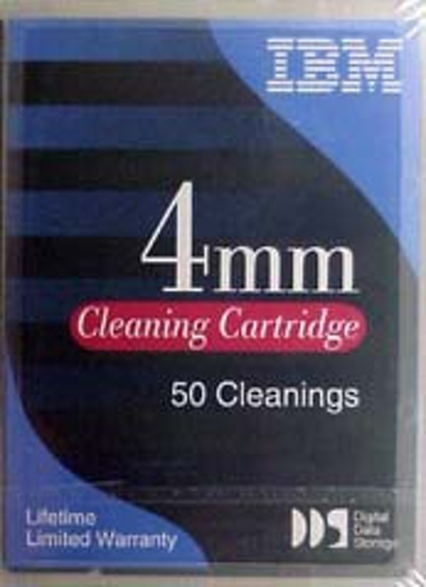50-Pass 4mm Cleaning Cartridge